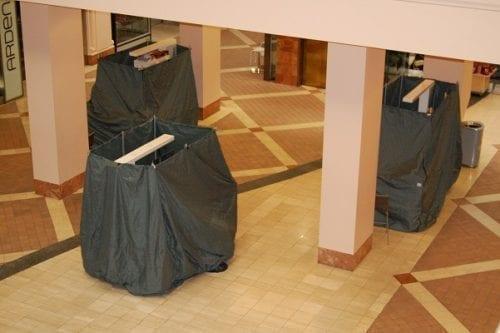 custom rmu covers in mall
