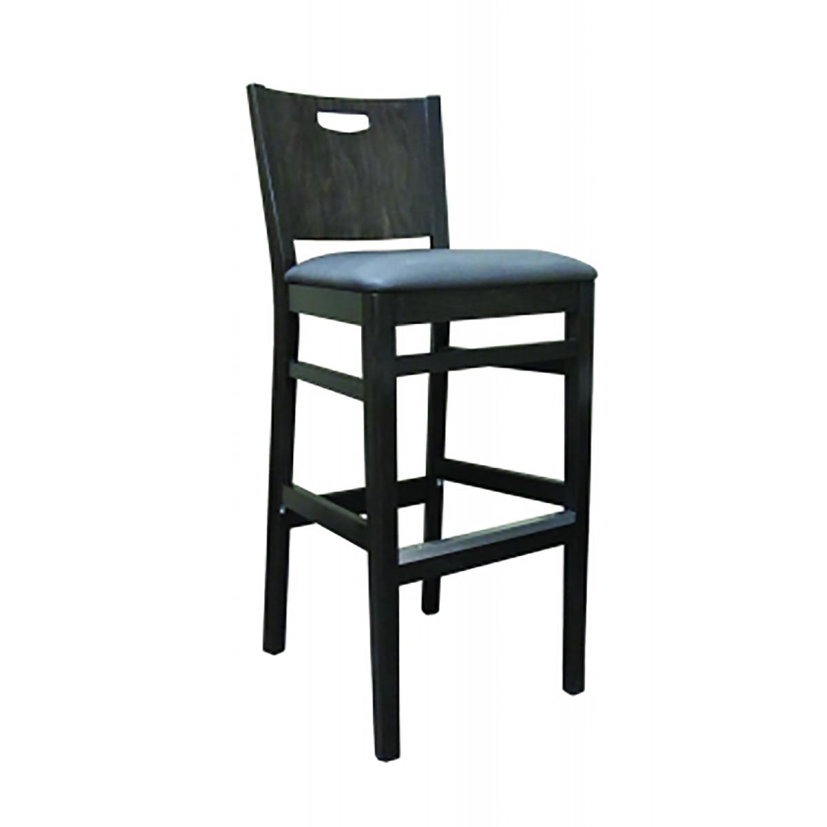 Soho barstool with vinyl seat