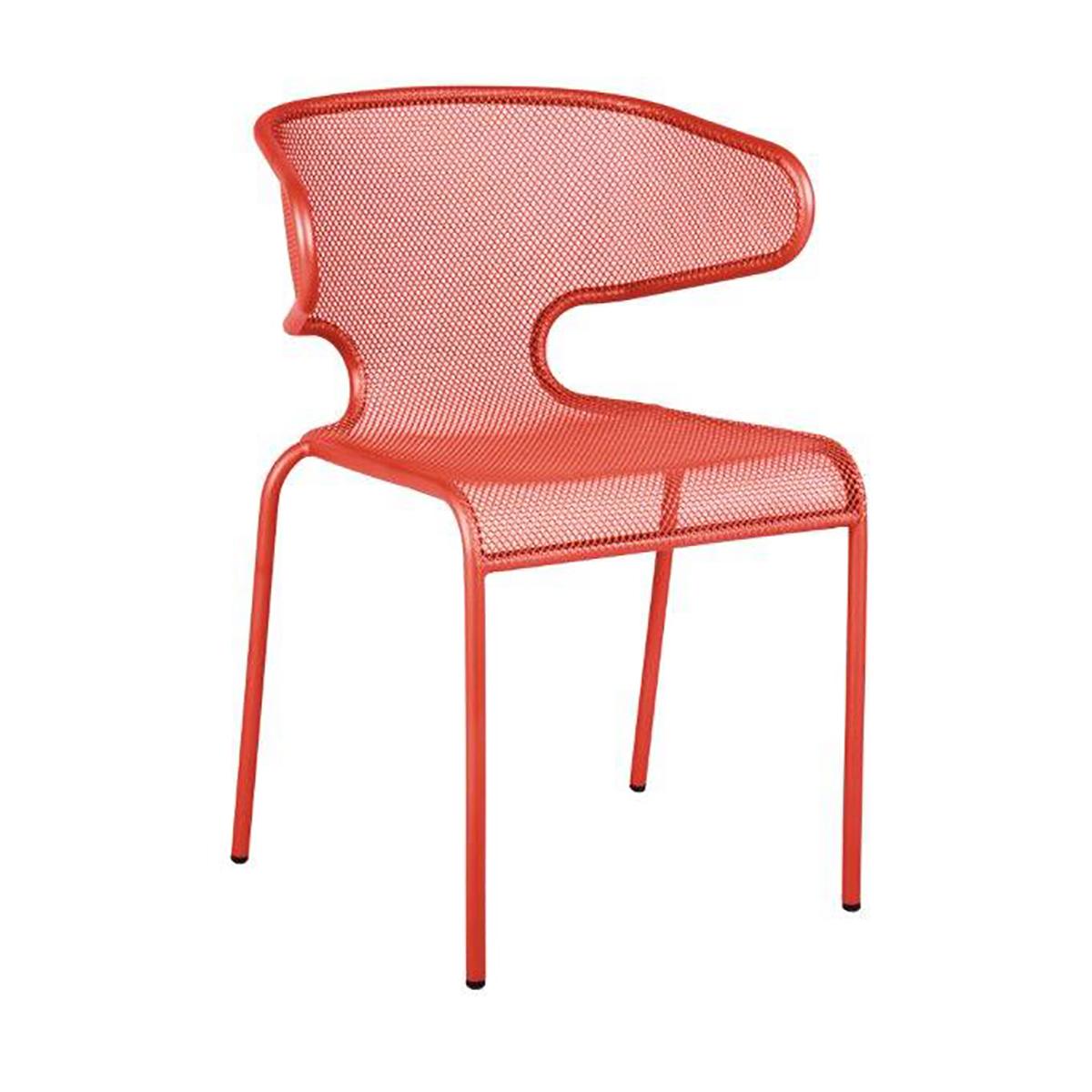 grenadine mesh outdoor chair