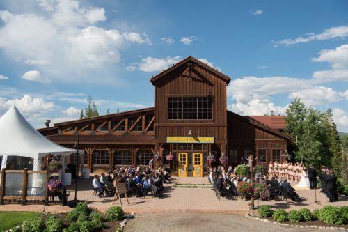 wedding at tenmile station breckenridge
