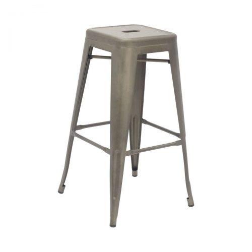 industrial stool bronze