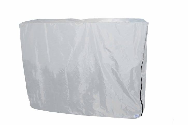 White Tradeshow Table custom Cover