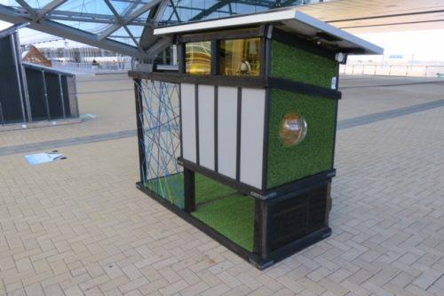 multi-story solar dog house