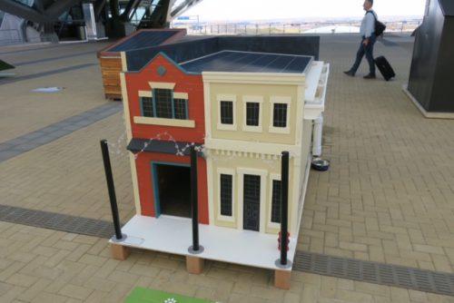 solar dog town house