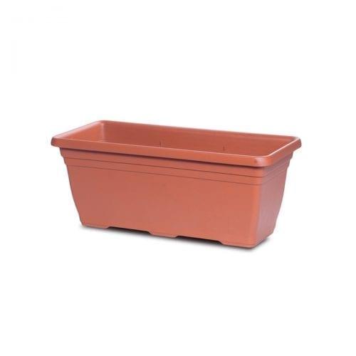 terracotta rectangular planter