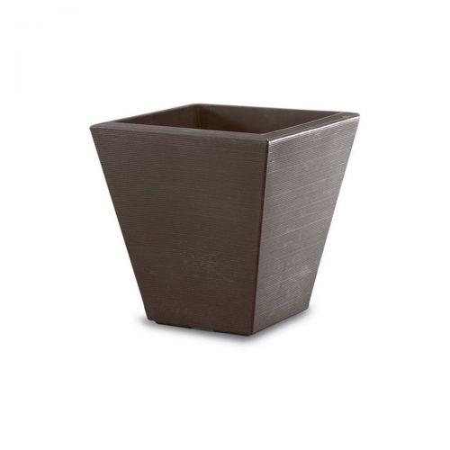 bronze square planter