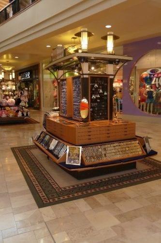 used mall kiosk