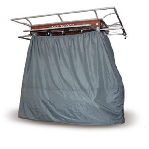 gray rmu lockable cover